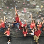 2010 Climbing Wall Staff...Silly People