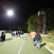 Band Tower on Synthetic Turf