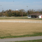 Softball Quad # 1 with Intramural Fieldhouse
