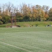 Band Tower on Synthetic Turf from Natural Turf Fields