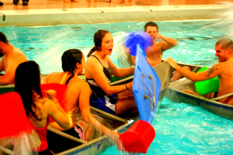 Battleship Participants in Pool