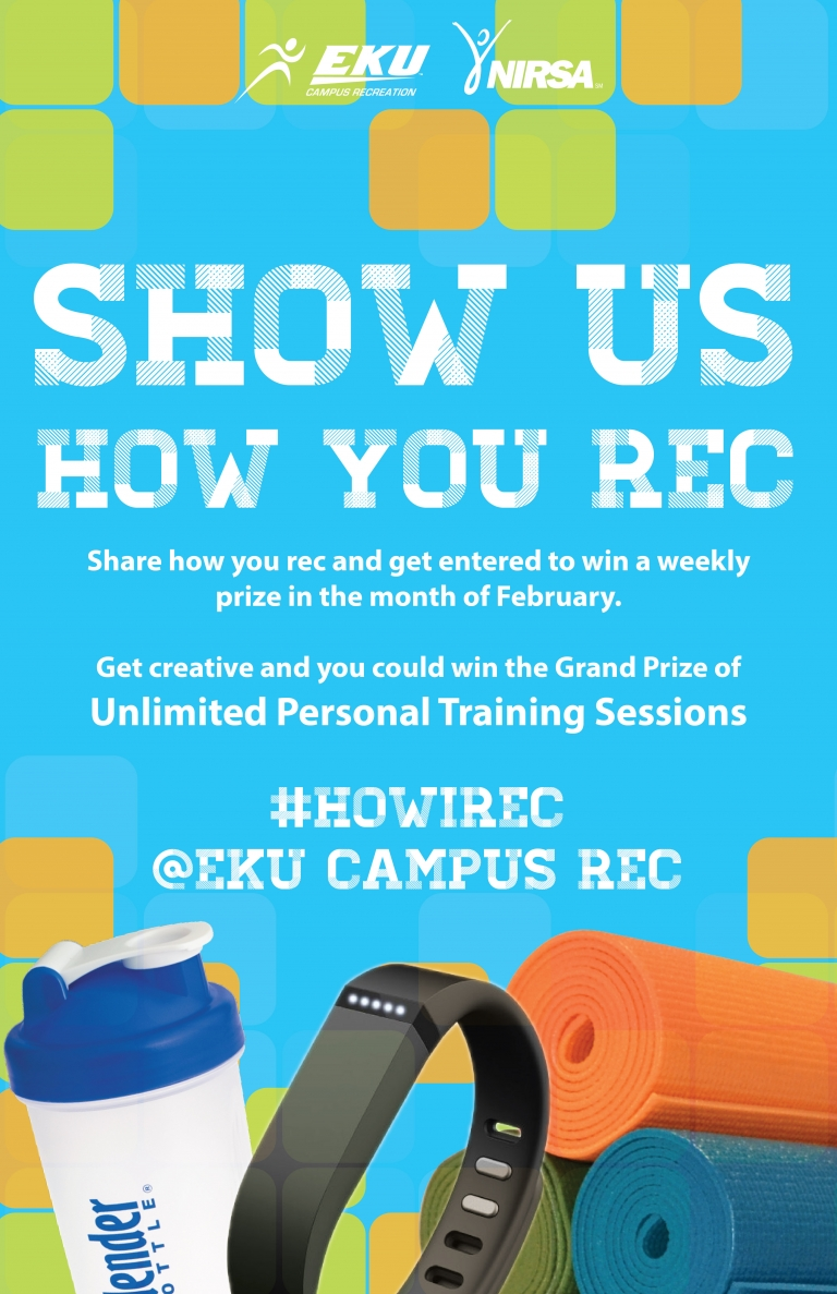 Show Us How You Rec for Rec Day