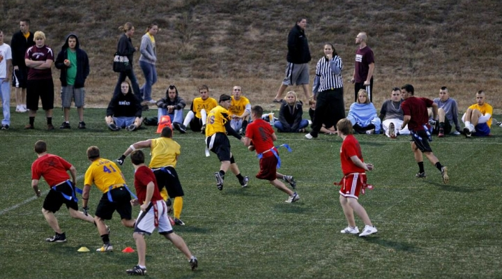 Flag Football  Line of Scrimmage